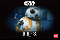 Bandai Star Wars BB 8 1/2 scale model kit -Australian Seller