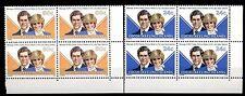 ISOLE COCOS - 1981 - Matrimonio reale tra il Principe Carlo e Lady Diana