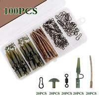 LGS Sleeves LARGE 54mm  Carp Fishing Terminal Rig Tackle GREEN Details about  /Anti Tangle