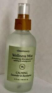 Clean Beauty Wellness Mist Calming Lavender + Eucalyptus 4 oz