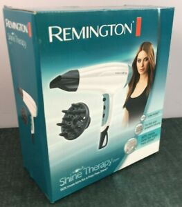 Remington D5216 2300W Shine Therapy Hair Dryer with Diffuser New Boxed