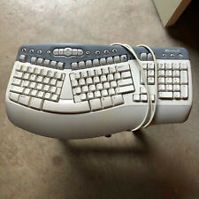 Microsoft Natural Multimedia Keyboard 1.0A RT9470 vtg ergonomic PS2 wired