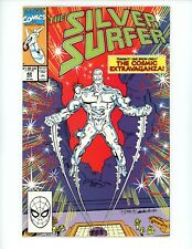 Silver Surfer #42 1990 2nd Series FN/VF Drax the Destroyer Comic
