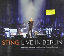 Sting Live In Berlin CD Music Album Brand NEW + DVD Set Pop Rock Jazz