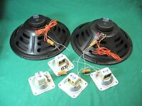 "Vintages Special Design Two Jensen C12 SL 12"" Speakers Plus four C7516 tweeters"