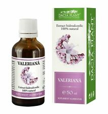 VALERIAN TINCTURE FOR ANXIETY- INSOMNIA, STRESS ,NERVOUS TENSION , 50 ML