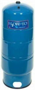 Water Worker HT-20B Blue 20-Gallon Vertical Pressure Water Well Tank
