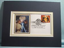 Star Wars & First day Cover of the Obi-Wan kenobi and Anakin Skywalker stamp