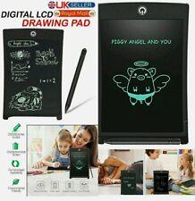 "UK 8.5"" Electronic Digital LCD Writing Pad Tablet Kids Fun  Drawing Gift (Black)"