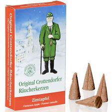 Crottendorfer Räucherkerzen Räucherkegel Zimtapfel /