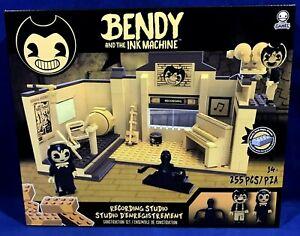 Basic Fun Bendy and The Ink Machine Recording Studio Construction Set - 255 Pcs