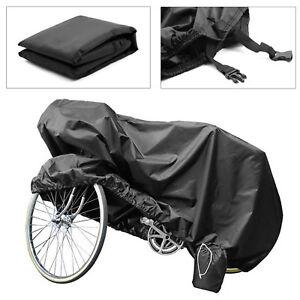 Universal Waterproof Bicycle Cover Outdoor Rain Weather Resistant Easy Storage