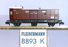 Fleischmann N 8893; Packwagen KPEV, Epoche 1, in  OVP /E887
