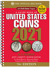 Whitman's Official Red Book Guide of United States Coins 2021 (Spiral) Catalog