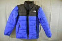 The North Face Mount Chimborazo Jacket DAMAGED- Boys Size M - Blue/Black