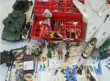 MEGA LOT VINTAGE 1982-90 GI JOE-ROTICA 128 FIGURES VEHICLES and Weapons Nice**