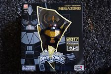 SDCC 2017 Exclusive Toy Tokyo Black & Gold Mighty Morphin Megazord Vinyl Figure