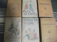 Lotto 7 Libri di Piero Gadda originali anni 30