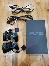 Playstation 2 Ps2 Fat Console w/ 2 Controller TESTED Working SCPH-39001