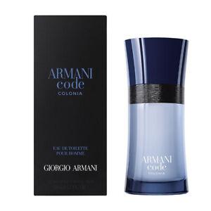 Giorgio Armani Code Colonia Eau De Toilette 125ml - 50ml