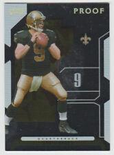 DREW BREES Saints 2006 Playoffs NFL SILVER PROOF Variation #68 SP #093/100 Rare