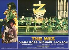 DIANA ROSS MICHAEL JACKSON THE WIZ 1970 VINTAGE PHOTO FRENCH LOBBY CARD N°4 MINT