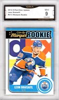 GMA 9 Mint LEON DRAISAITL 2014/15 OPC O-Pee-Chee Rookie Card OILERS tough border