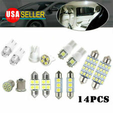 14x Car Interior Package Map Dome License Plate Mixed LED Light Accessories