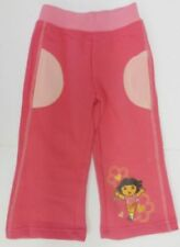 Pantalons roses en polyester pour fille de 2 à 16 ans