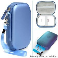 New Blue Travel Case Hp Sprocket Portable Photo Printer Polaroid