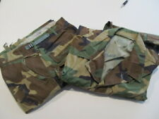 1 Set Military Shirt Med/Reg 1993 & Trouser Med/Reg 1995 Woodland Camo Combat c