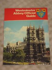 Westminster Abbey Official Guide 1977 Edition with May 19 1985 mass details