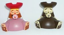 Disney Park Starz Series #3 Vinylmation ( Set of 2 ) Pig Pirate & Variant