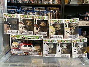 Ghostbusters Funko Pop Vinyl bundle Complete Collection Rare Vaulted Retired