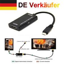 MHL Micro USB-Stecker auf HDMI-Buchse Adapterkabel für Android Smartphone Tablet