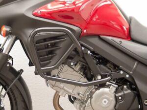 1000 Protector Manillar para Suzuki V-Strom DL650 Logotipo Rojo