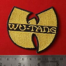 1 pc. wu-tang clan band embroidered embroidery iron on sew patch badge