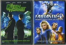 The Green Hornet /Fantastic Four 4 Rise of the Silver Surfer (Bilingual DVD) NEW