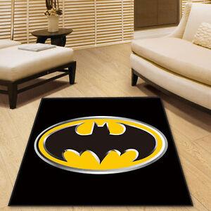 Batman DC Square Cool Velboa Floor Rug Carpet Room Doormat Non-slip Mat New #29