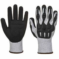 Portwest A723 TPV Impact Resistance Cut C Protection HDPE Nitrile Foam Glove