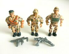 Military Muscle Men Soldiers O.S.F.T.M. Vintage 1993 - Desert Set 3