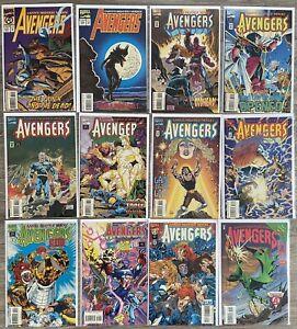 Marvel Comics Lot - Avengers 377 379 380 381 382 383-386 388 389 391 Quicksilver