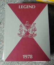 1978 LENAPE SCHOOL YEARBOOK  MEDFORD NEW JERSEY NJ