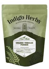 Indigo Herbs Organic Tribulus Terrestris Powder 500g Gokshura, Full Spectrum