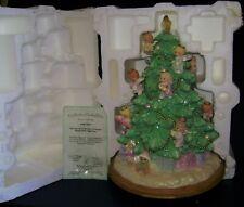 Precious Moments Illuminated Angel Table Top Tree - Bradford Exchange