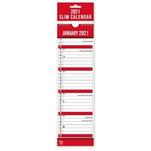 2021 Commercial Super Slim Calendar