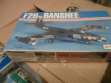 VINTAGE  AIRFIX F2H BANSHEE FREE SHIPPING LOT 807 SEALED