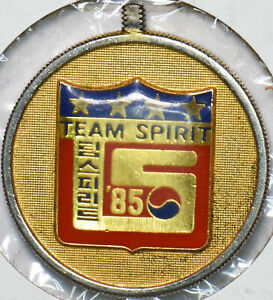 Korea 1970 President of Korea Team Spirit Token gold gilted 293147 combine shipp