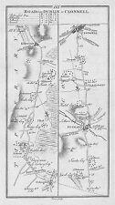 1778 Ireland Dublin Urlingford Fethard Clonmel Tipperary etc Antique Road Map
