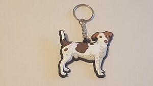 Jack Russell Terrier Dog Lover Keyring Gift Present Key Ring Xmas